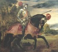 Карл V в сражении под Мюльбергом, 1547 - Тициан Вечеллио