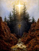 Крест в лесу - Фридрих, Каспар Давид