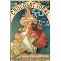 Шоколад Ideal в растворимом порошке - Муха, Альфонс