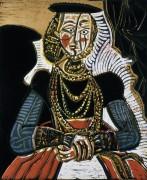 Портрет молодой дамы - Пикассо, Пабло