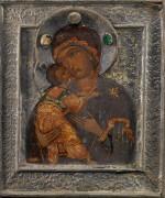 Богоматерь Владимирская, 17 век