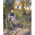 Нини Лопес в саду - Ренуар, Пьер Огюст