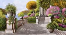 Парк с лестницей - Борелли, Гвидо (20 век)