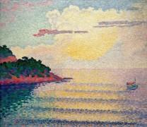 Морской пейзаж с закатом - Кросс, Анри Эдмон