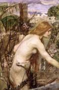 Девушка, собирающая цветы - Уотерхаус, Джон Уильям