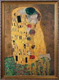 Поцелуй. Густав Климт.