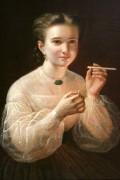 Девушка с папиросой - Заболоцкий, Петр Ефимович