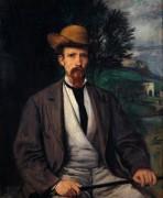 Автопортрет в желтой шляпе - Маре, Ганс фон
