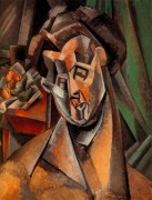Женщина с грушами, 1909 - Пикассо, Пабло