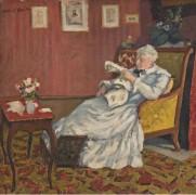 Сидящая пожилая дама в белом, 1912 - Андре, Альберт