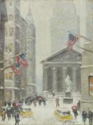 Нью-Йорк, зима, 1950-60 -  Уиггинс, Гай Кэрлтон