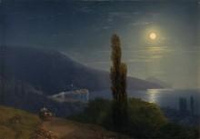 Пейзаж в лунном свете, Крым - Айвазовский, Иван Константинович