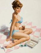 Девушка на пляже - Сарноф, Артур