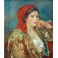 Девушка в испанском жакете - Ренуар, Пьер Огюст