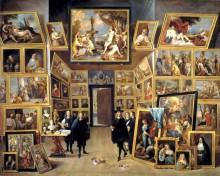 Леопольдо Гильермо и его галерея в Брюсселе -  Тенирс, Давид
