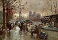 Рынок возле Нотр Дам - Кортес, Эдуард