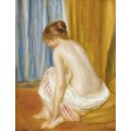 Купальщица, 1893 - Ренуар, Пьер Огюст