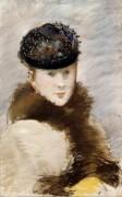Мари Лоран в шляпке - Мане, Эдуард
