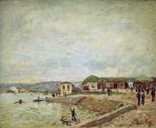 Вид на Сену близ Севра - Сислей, Альфред