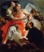 Авраам и три ангела - Тьеполо, Джованни Баттиста
