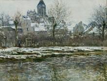 Снег в Ветее - Моне, Клод