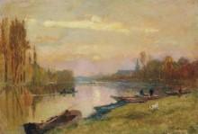 Закат солнца в Андрези - Лебург, Альберт