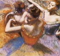 Танцовщицы, 1899 - Дега, Эдгар