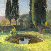 Бассейн на юго-востоке от парка  Маркьироль, 1920 - Мартен, Анри Жан Гийом