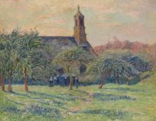 Церковь,1897 - Море, Анри