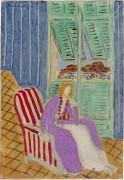 Фиолетовое платье - Матисс, Анри