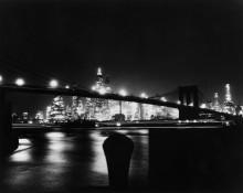 Ночной вид на Бруклинский мост