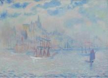 Лодки в Нью-Йоркском заливе, 1907 - Батлер, Теодор