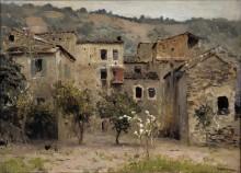 Близ Бордигеры. На севере Италии. 1890 - Левитан, Исаак Ильич
