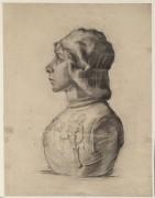 Бюст молодого воина (Bust of a Young Warrior), 1886 - Гог, Винсент ван