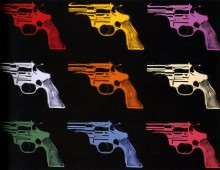 Револьверы (Revolvers), 1982 - Уорхол, Энди