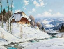 Солнечный зимний день в Шварцвальде - Хауптман, Карл