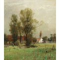Пейзаж с цветочным лугом - Виллройдер, Людвиг
