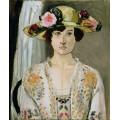 Женщина в шляпке - Матисс, Анри