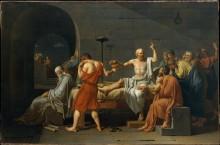Смерть Сократа - Давид, Жак-Луи