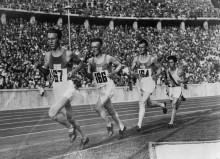 Олимпийские бегуны  8 августа 1936
