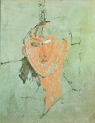 Портрет женщины - Модильяни, Амадео