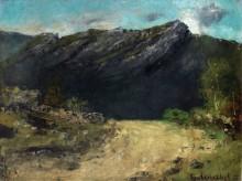 Пейзаж в Юрских горах - Курбе, Гюстав