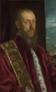 Портрет Винченцо Морозини - Тинторетто (Якопо Робусти)