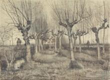 Березы (Pollard Birches), 1884 - Гог, Винсент ван