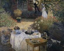 Завтрак в саду - Моне, Клод