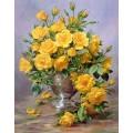 Розы в серебряной вазе - Вильямс, Альберт