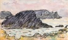 Скалы в Бель-Иль - Море, Анри