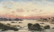 Прибрежный пейзаж в Буде - Бретт, Джон