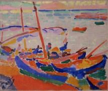 Рыбацкие лодки - Дерен, Андре