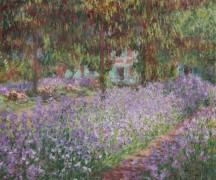 Ирисы в саду Моне, 1899-1900 - Моне, Клод